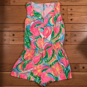 Lilly Pulitzer Other - Like new Lilly Pulitzer romper size medium